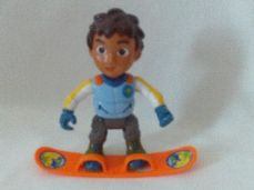 Fabulous Big 'Go Diego Go' Figure and his Snow Board Toy